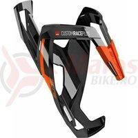 Suport De Bidon Elite Custom Race Plus Black Glossy Orange Graphic