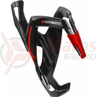 Suport De Bidon Elite Custom Race Plus Black Glossy Red Graphic