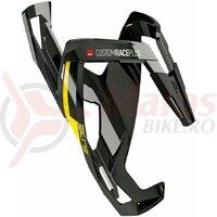 Suport De Bidon Elite Custom Race Plus Black Glossy Yellow Graphic