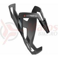 Suport De Bidon Elite Custom Race Plus Black Skin Soft Touch