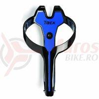 Suport de bidon Tacx Foxy negru/albastru