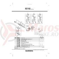 Suport de uzura din cauciuc pentru Shimano PD-7700