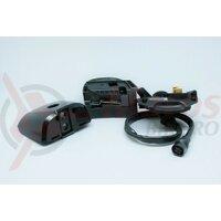 Suport pentru baterie Shimano Steps BM-E8010 cablu baterie 300 mm fara butucul cu cheie negru