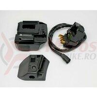 Suport pt. baterie Shimano Steps BM-E6010 pt. BT-E6010 (prindere pe cadru) cablu de baterie 600mm