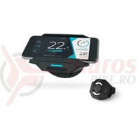 Suport telefon + hub incarcare COBI.Bike, montura universala, smart, control digital,DE