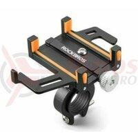 Suport telefon ROCKBROS Black/Orange 699-BO