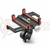 Suport telefon ROCKBROS Black/Red 699-BR