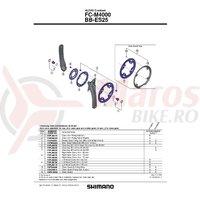 Surub de fixare brat pedalier Shimano FC-M4000