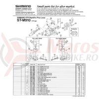 Surub de reglare cablu Shimano ST-M900