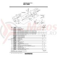 Surub pivot Shimano BR-7900 fata 32.0mm