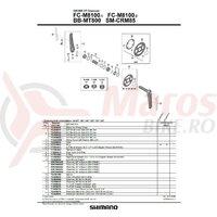 Suruburi de fixare FC-M8100(4 sets)