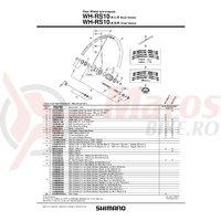 Suruburi de fixare pentru caseta Shimano FH-6207
