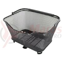 System basket Atranvelo Daily S 16l 37x20x29cm, black, incl. AVS adapter