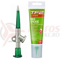 TF2 Grease Gun cu lubrifiant cu teflon (125ml) Weldtite