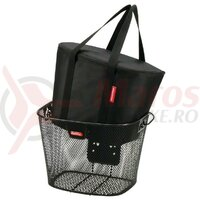 Geanta termica KLICKfix f. handlebar basket black,34 x 26 x 25cm