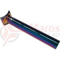 Tija sa BMX Colony Pivotal 185mm, rainbow anodise