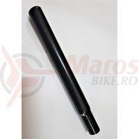 Tija sa otel negru 25.4x1.4x248 mm