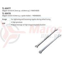 TL-WH77 cheie Shimano pentru nipluri