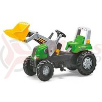 Tractor cu pedale Rolly Junior verde