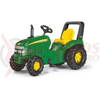 Tractor cu pedale Rolly X-trac John Deere copii 3-9 ani