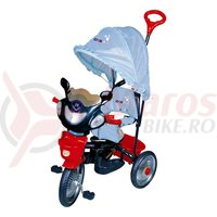 Tricicleta DHS Jolly Ride albastru/rosu