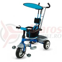 Tricicleta DHS Scooter Plus multifunctionala albastra