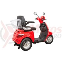 Tricicleta electrica ZT-15 Trilux K, rosie + CIV