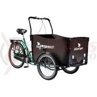 Triciclu Pegas Cargo Adult 26x20 verde smarald