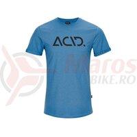 Tricou ACID Organic T-Shirt classic logo blue