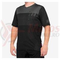 Tricou AIRMATIC 100% Black/Charcoal