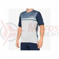 Tricou AIRMATIC 100% Blue/Grey