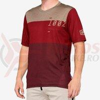 Tricou Airmatic Jersey Brick/Dark Red