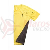 Tricou alergare On Performance-T mustard pebble