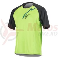 Tricou Alpinestars Trailstar S/S Jersey bright green/black