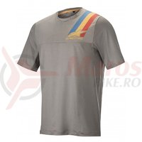 Tricou Alpinestars Alps 4.0 SS Jersey Melange grey/blue red