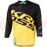Tricou barbat enduro 3/4 Kross Hyde yellow