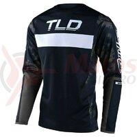 Tricou bicicleta Troy Lee designs Sprint Dyeno Navy / Gray 2021