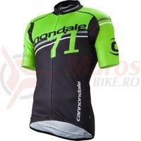 Tricou Cannondale Team 71 negru/verde/alb