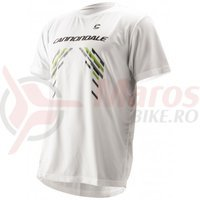 Tricou Cannondale Team Tech Tee alb