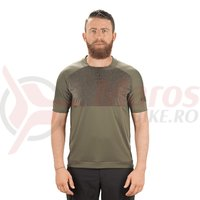 Tricou ciclism Cube AM Round-Neck olive