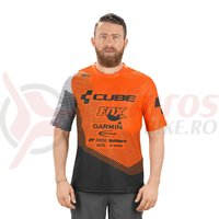 Tricou ciclism Cube Edge round neck S/S X Actionteam