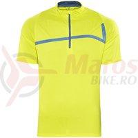 Tricou ciclism Cube Motion Jersey lemon
