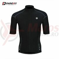 Tricou Ciclism Darevie Negru Polyester