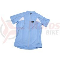 Tricou ciclism fete BBB GirlComfort albastru