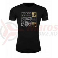 Tricou ciclism Force 30 Years Limited Edition, negru