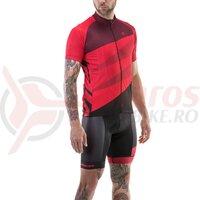 Tricou ciclism Merida CX Design Pro rosu fermoar lung