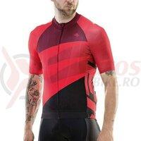 Tricou ciclism Merida short 422, long zipper, red