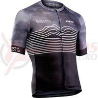 Tricou ciclism NORTHWAVE BLADE AIR scurt negru