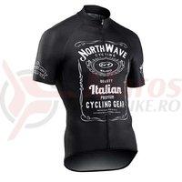 Tricou ciclism Northwave JD scurt negru