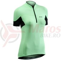 Tricou ciclism Northwave Muse dame culoare mint